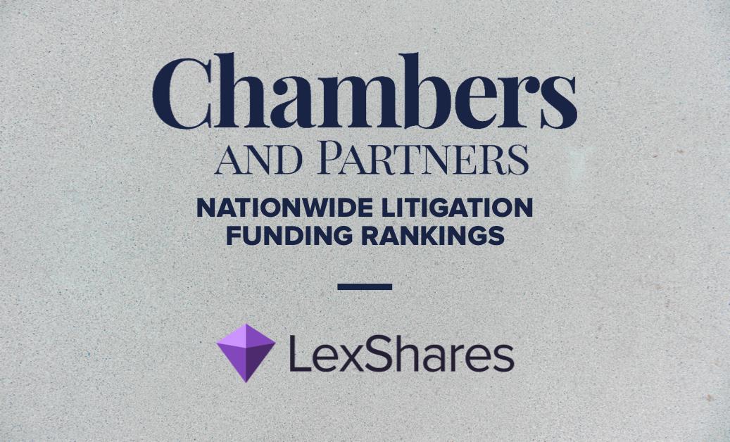 Chambers Ranks LexShares Among Leading Litigation Finance Firms